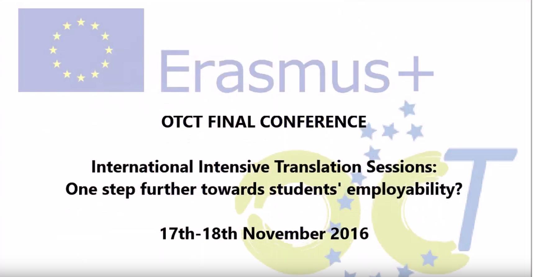 OTCT conference